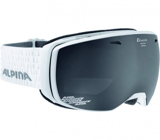 Alpina - Estetica MM Skibrille (weiß)