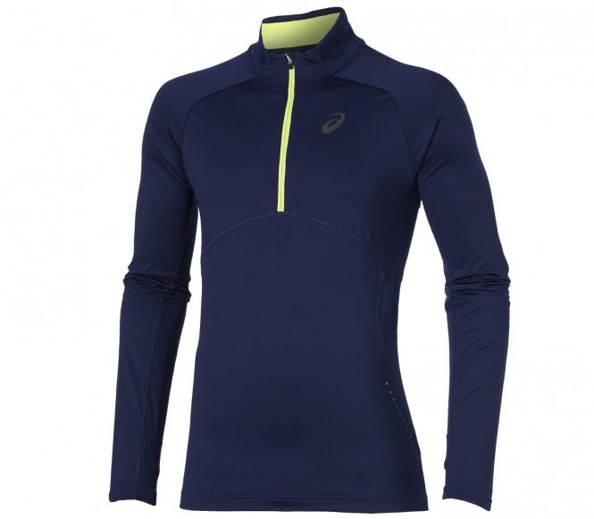 Asics Longsleeve 1/2 Zip men's runing shirt (mörkblå) M