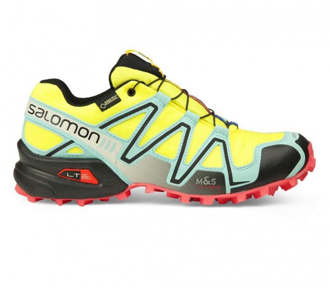 Salomon - Speedcross 3 GTX Damen Laufschuh (gelb) - EU 39 1/3 - UK 6