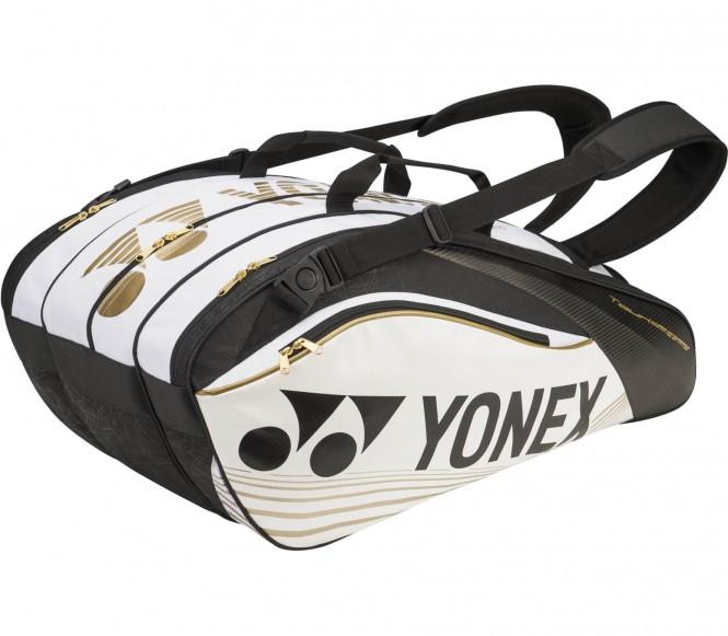 Pro Thermobag 9er Tennistasche (weiß/schwarz)