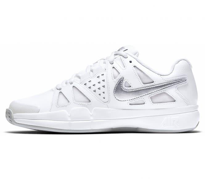 Nike - Air Vapor Advantage Clay Femmes Chaussure de tennis (blanc/argent) - EU 40,5 - US 9