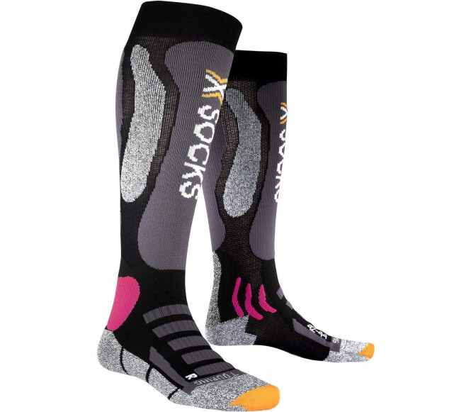 X-Bionic - Ski Touring Silver women's ski socks (black/purple) - EU 35 ? 36