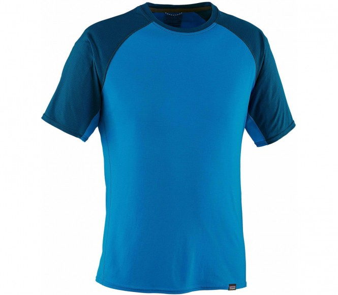 <strong>Patagonia</strong> casquetteilene lightweight t shirt fonctionnel pour hommes bleu s 30