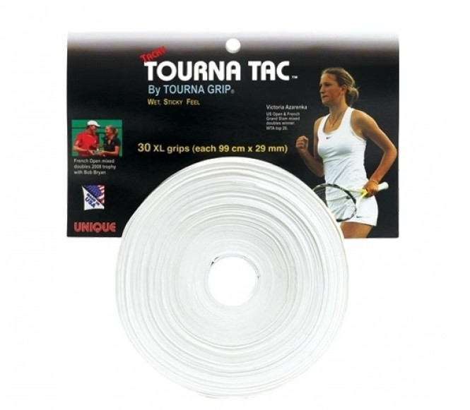 Unique - Tourna Tac - 30er Pack weiss