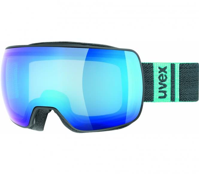 Uvex - Compact Fm Skibrille (schwarz/blau)