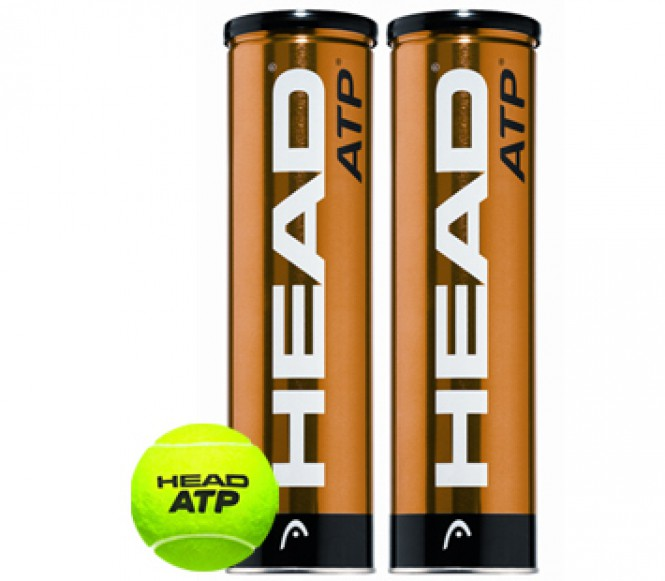 Head ATP 2×4-bollars Bi-Pack