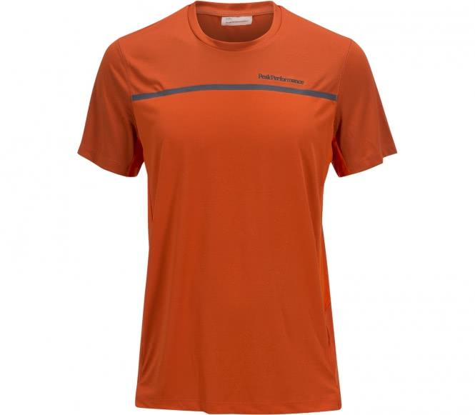 Peak Performance - Rucker men's running t-shirt (orange/grey) - S
