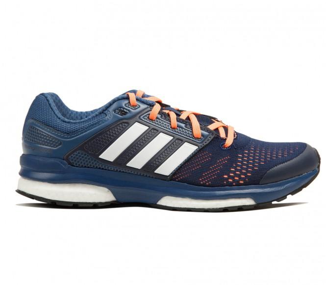 Adidas - Revenge Boost 2 Dames Harloopschoenen - EU 39 1/3- UK 6 donker blauw