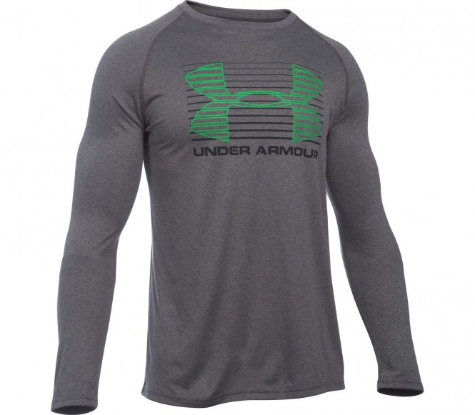 Under Armour - Tech Rise Up Sportstyle Lange mouw Heren training overhemd