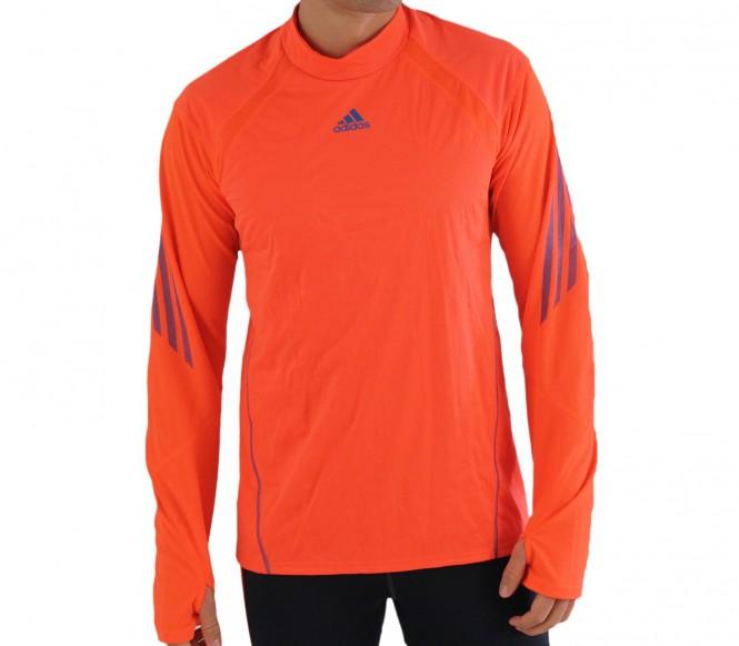 Adidas shirt de course adizero wind proof ls tee rougebleu hw12 xs
