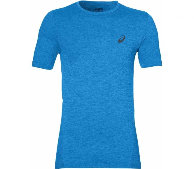 Seamless Herren Trainingsshirt (blau) - L