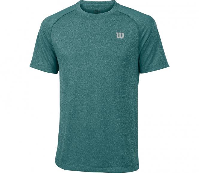 Wilson - Core Crew Herren Tennisshirt (grün) - XXL
