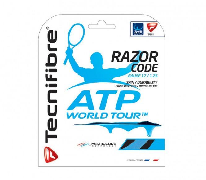 cordages de tennis - TECNIFIBRE RAZOR CODE  ATP  1,25MM 12M
