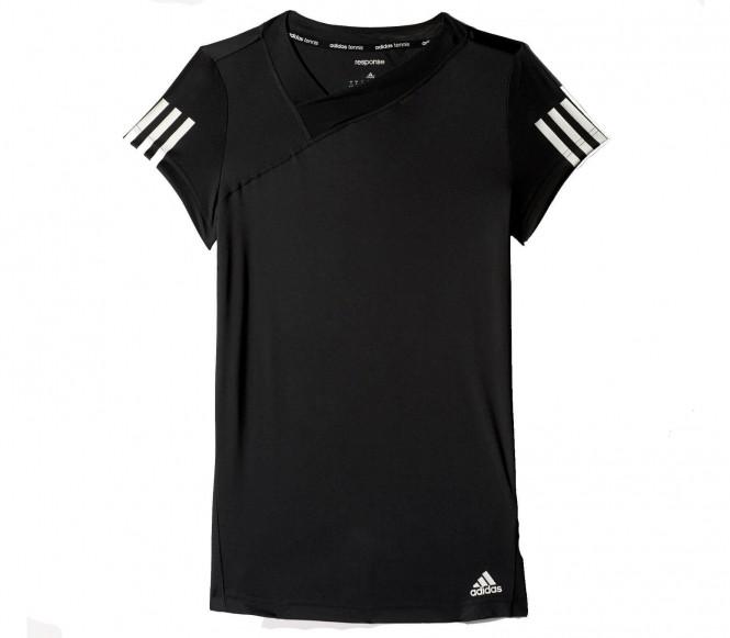adidas Performance RESPONSE  Sportshirt black/white