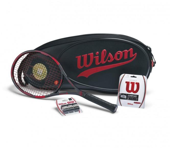 Wilson Pro Staff 95 (uppträdda) tennisrack 100 Jahre Edition Package L4 (4 1/2)