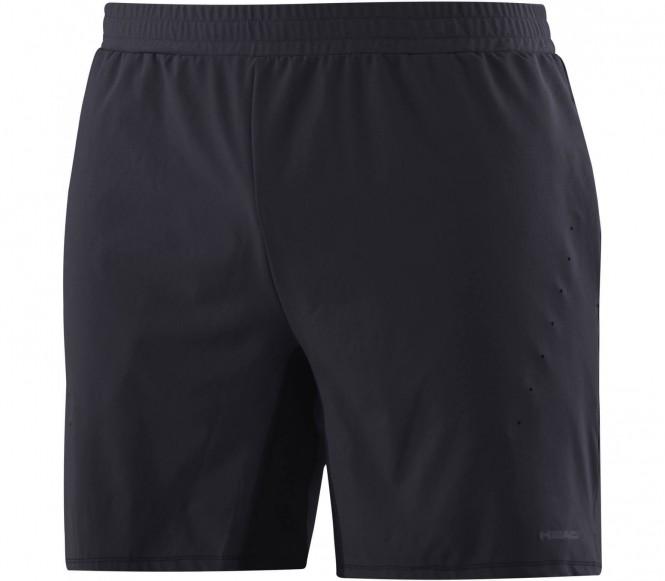Performance Herren Tennisshort (schwarz) - XL