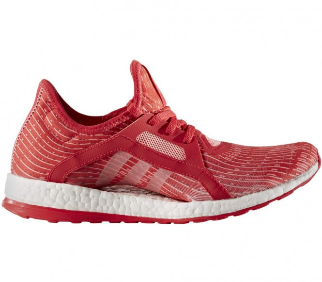 adidas Women's Pure Boost X Running Shoes Red US 7.5-UK 6