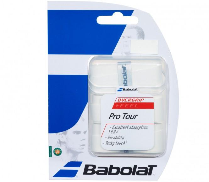 Balles de tennis accessoires - BABOLAT PRO TOUR  LOT DE 3  NOIR