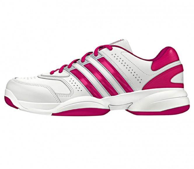 Adidas Response Aspire Carpet Synthetic Dam Tennisskor (vit/pink) EU 42 2/3 UK 85 EU 42 2/3 UK 85