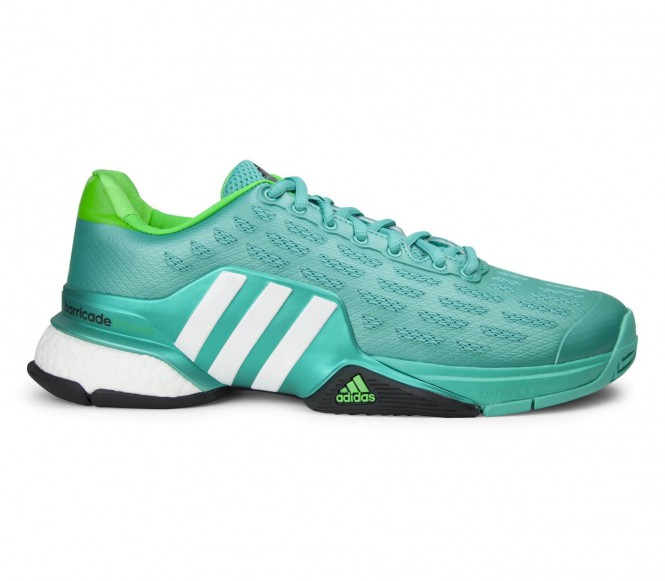 Adidas Barricade 2016 Boost Heren Tennisschoenen EU 45 1-3- UK 10,5