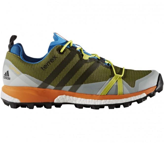 Adidas Terrex Agravic GTX Heren Wandelschoenen (groen-oranje) EU 47 1-3 UK 12