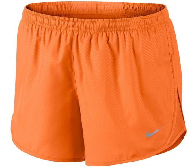 Nike Performance MODERN EMBOSSED TEMPO Korte broeken bright citrus/reflective silver