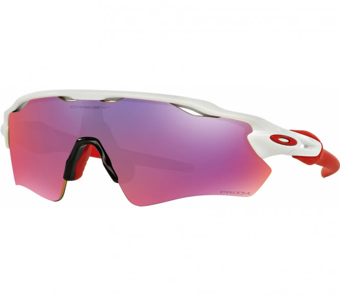 Radar EV Path - Prizm Road Bike Brille (rot/weiß)