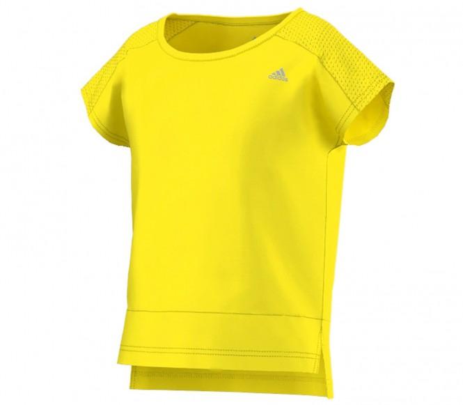 Adidas Wardrobe barn träningsshirt (gul) 128