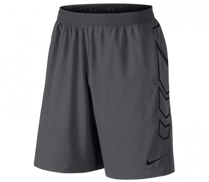 Nike Vapor Woven 8 inch men's training shorts (dark grey) XL