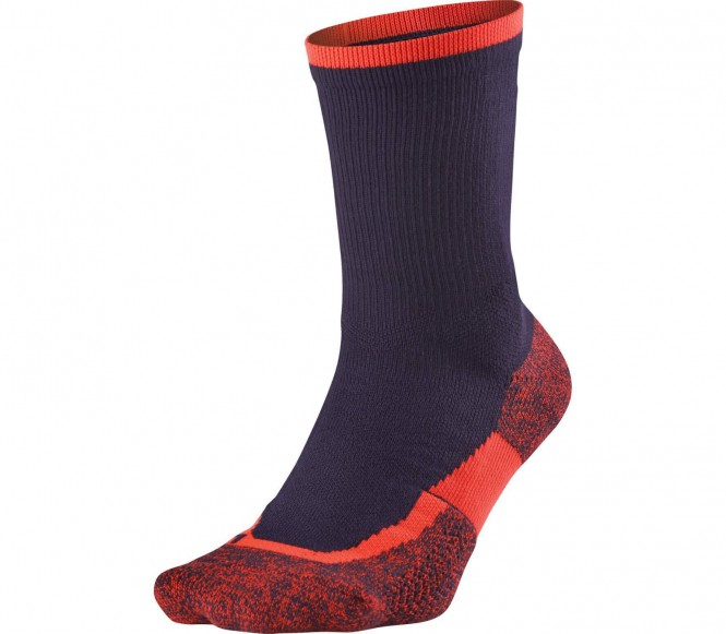 Nike - Elite Crew Unisex Tennissocken (lila) - XL