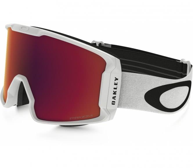 Oakley - Line Miner Skibrille (weiß/schwarz)