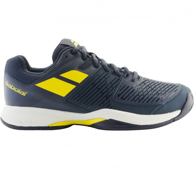 Babolat pulsion clay hommes chaussure de tennis bleu jaune eu 42 uk 8