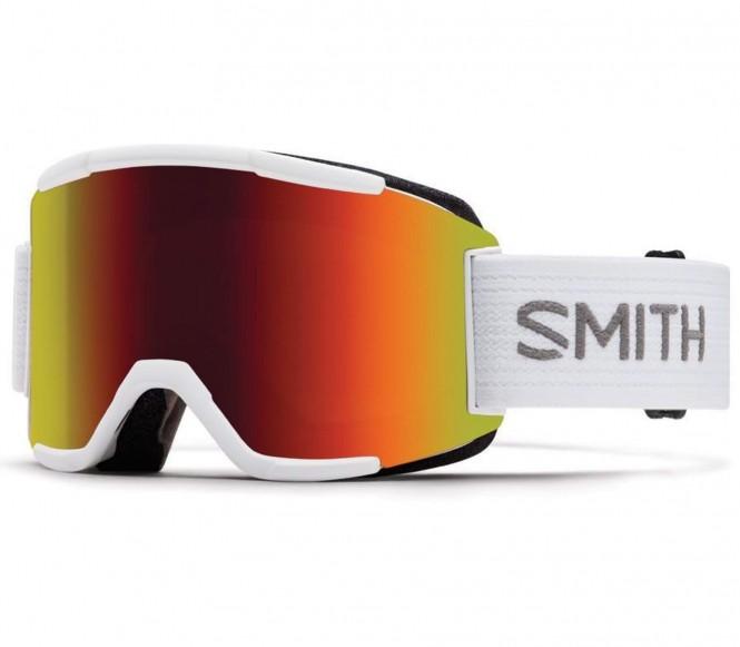 Squad Skibrille (weiß/grau)