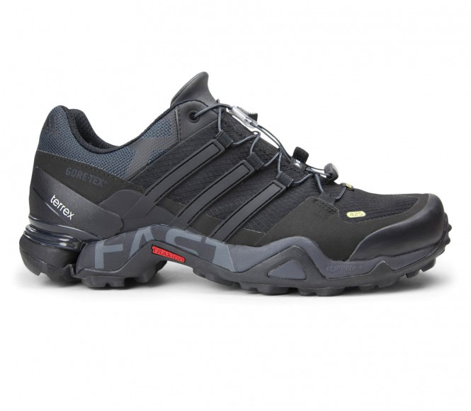 Adidas Terrex Fast R Gore-Tex Herr Multisportskor (svart/mörkgrå) EU 47 1/3 -UK 12