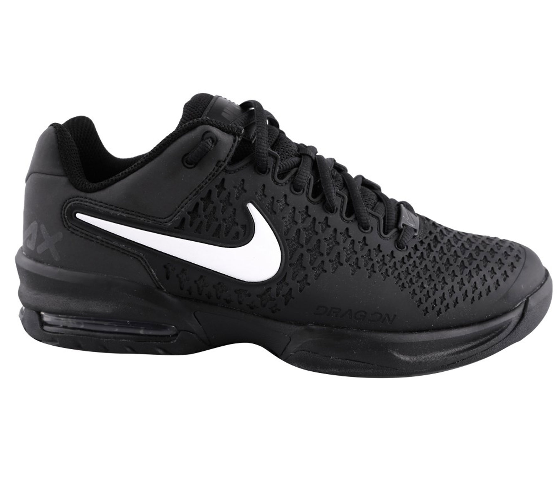 nike air max cage limited edition damen tennisschuh schwarz wei tennis tennisschuhe damen. Black Bedroom Furniture Sets. Home Design Ideas