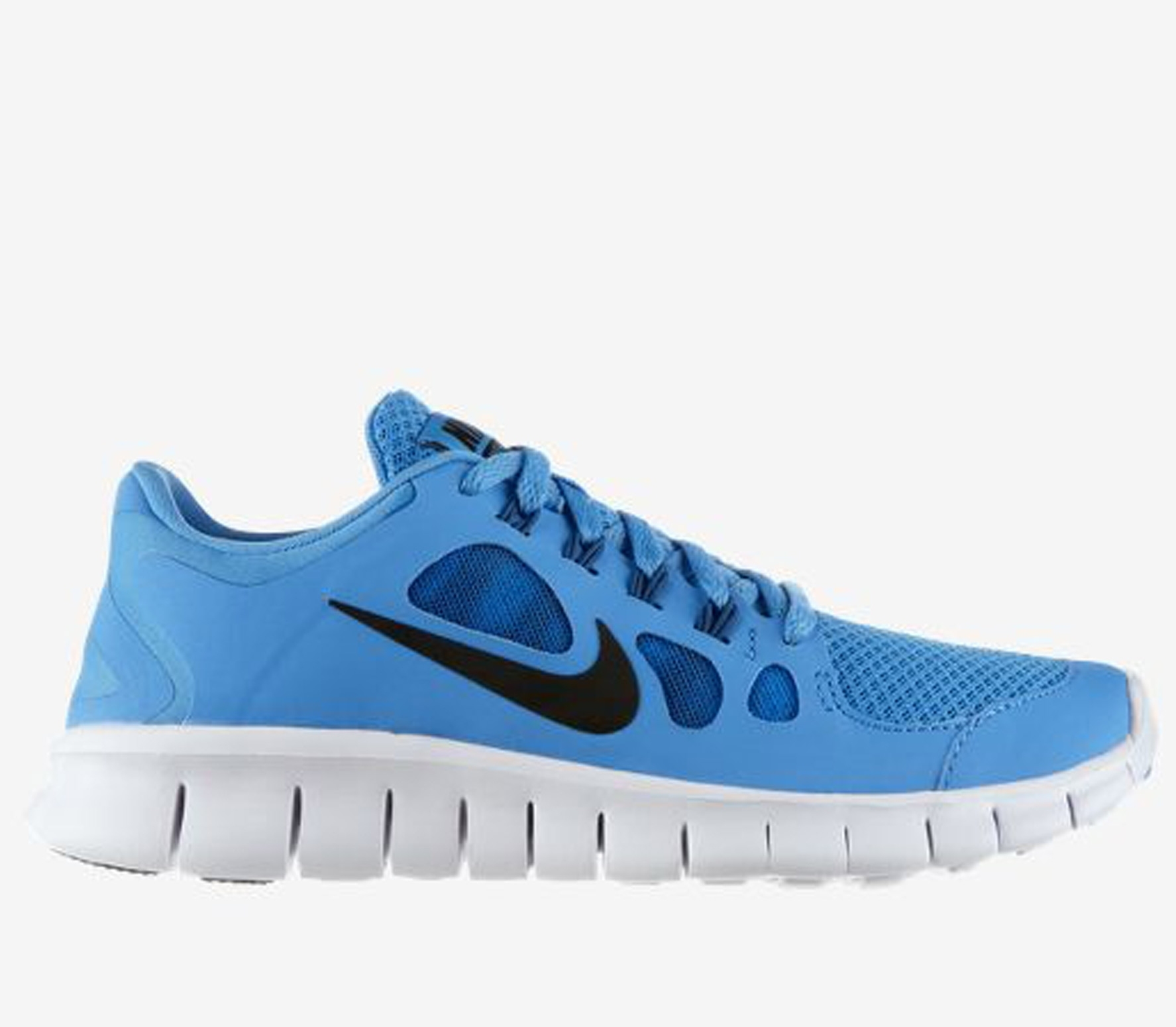 nike free 5 0 gs jungen laufschuh blau running. Black Bedroom Furniture Sets. Home Design Ideas